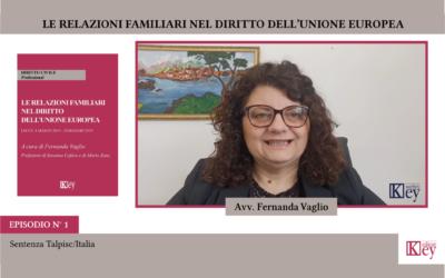 LE RELAZIONI FAMILIARI NEL DIRITTO DELL'UE  Violenza domestica e violazione dei diritti umani – Quarta parte