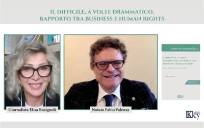 Il difficile, a volte drammatico, rapporto tra business e human rights  Video intervista